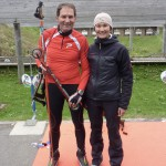 Biathlon-Workshop mit Simone Hauswald