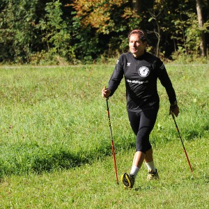 Dynamisches Nordic Walking