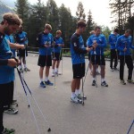 Nordic Walking Training mit Handball-Bundesligist TVB 1899 Stuttgart
