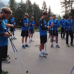 Nordic Walking - Trainingsmittel der Handballprofis